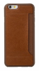 Чехол OZAKI O!coat-0.3+Pocket for iPhone 6 Brown (OC559BR)