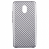 Carbon Leather Case for Meizu M3 Silver