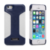 Icarer iPhone 5/5S Colorblock Blue/White
