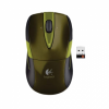 LOGITECH M525 Wireless Mouse Green/Gold ОЕМ