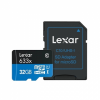 Lexar Micro SDHC 32GB 633x UHS-I C10 High-Perform+ SD-адаптер