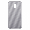 Carbon Leather Case Meizu MX5 Silver