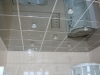 Mirror suspended ceiling
