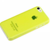Чехол Rock iPhone 5C Texture yellow
