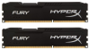 Память Kingston HyperX Fury Black 2x4Gb DDR3 1600Mhz (HX316C10FBK2/8)