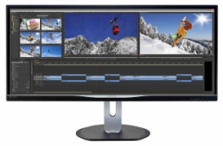 "Монитор 34"" Philips BDM3470UP/00 Black; 3440 x 1440"