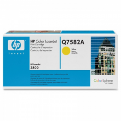 Картридж HP CLJ3800 yellow (Q7582A)