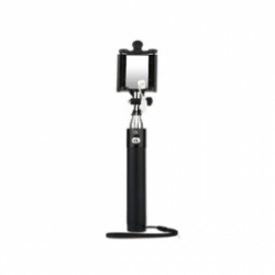 Baseus Monopod with AUX-cable Black