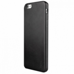 IPAKY Leather Case for iPhone 6/6s Black