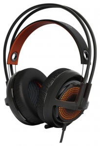 Гарнитура STEELSERIES Siberia 350, Black (51202)