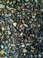 Pebble is shallow for a roof