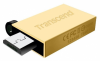 Накопитель USB Transcend JetFlash OTG 380 64Gb Metal Gold (TS64GJF380G)