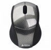 Мышь A4Tech G7-100D-1 Carbon черная, Holeless, USB