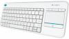Клавиатура LOGITECH K400 Plus White