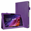 FYY Folio PU Leather Case Cover for Asus TransformerPad TF103C Purple