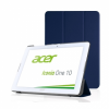 Pasonomi PU Leather Folio Case Stand Cover Acer Iconia One B3-A20 10 Dark Blue