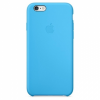 Apple iPhone 6S Silicone Case Blue