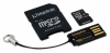 Карта памяти Kingston MicroSDXC 64Gb Class 10 Mobility Kit Gen2 (MBLY10G2/64Gb)