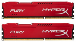 Память Kingston HyperX Fury Red 2x8Gb DDR3 1600MHz (HX316C10FRK2/16)