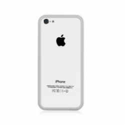 Macally Frame iPhone 5C White