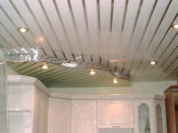 Pinion suspended ceilings