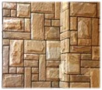 Tiles from sandstone pileno-punctured