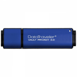 Накопитель USB3.0 32Gb Kingston DataTraveler Vault Privacy 3.0 (DTVP30/32Gb)